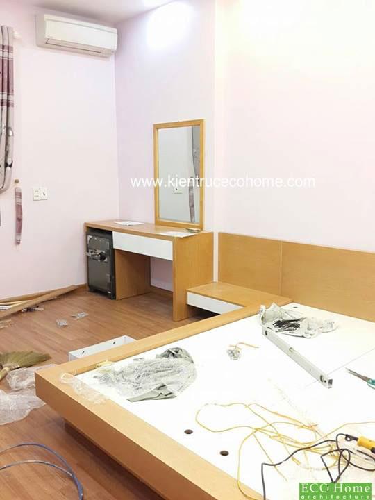 Thi công nội thất phòng ngủ tại Hải Phòng