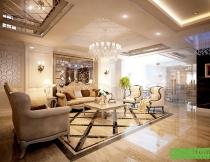 Thiết kế nội thất phòng khách Hải Phòng