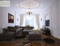 Thiết kế phòng khách cho biệt thự